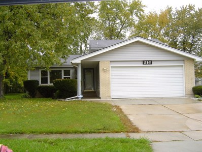 516 Nathan Road, University Park, IL 60484 - MLS#: 10153789