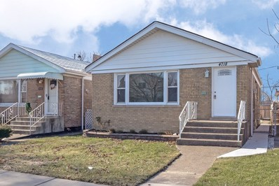 4718 S Keating Avenue, Chicago, IL 60632 - #: 10153957