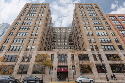728 W Jackson Boulevard UNIT 522, Chicago, IL 60661 - MLS#: 10154295