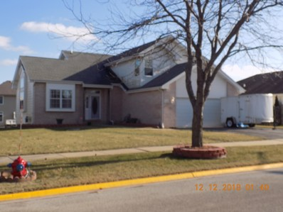 25815 S Sunrise Court, Monee, IL 60449 - MLS#: 10155555