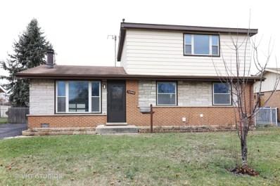 12808 W Playfield Drive, Crestwood, IL 60418 - #: 10161163