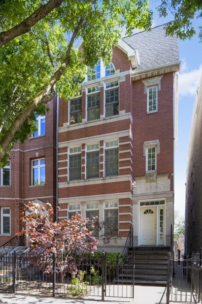 859 W Wrightwood Avenue UNIT 3, Chicago, IL 60614 - MLS#: 10162494