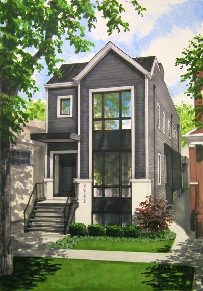 3623 N Leavitt Street, Chicago, IL 60618 - #: 10163747