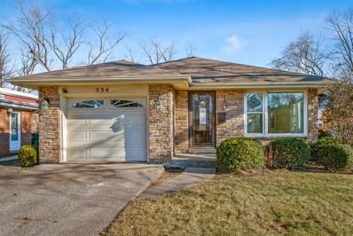 534 Knox Avenue, Wilmette, IL 60091 - #: 10164801