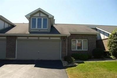 8902 Silverdale Drive UNIT 4F, Orland Park, IL 60462 - #: 10169919