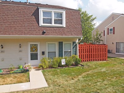 1881 Jamestown Circle UNIT 3221, Hoffman Estates, IL 60169 - MLS#: 10170012