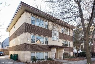 1343 W Winona Street UNIT 1W, Chicago, IL 60640 - #: 10248849