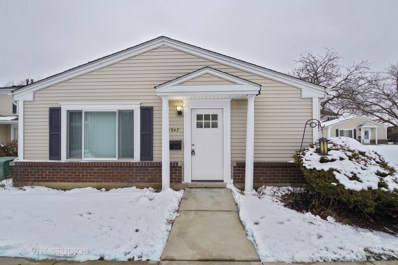 1547 Quaker Lane UNIT 113A, Prospect Heights, IL 60070 - #: 10250078