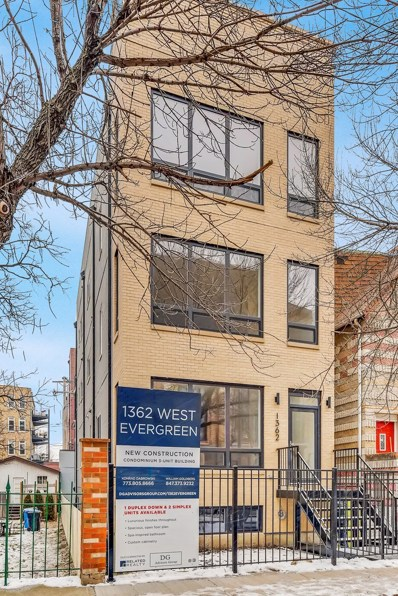 1362 W Evergreen Avenue UNIT 1, Chicago, IL 60642 - #: 10251438