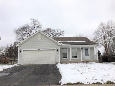1886 Cambridge Drive, Carpentersville, IL 60110 - MLS#: 10252921