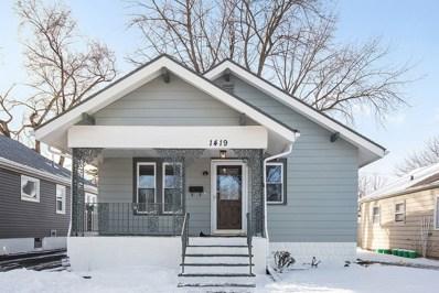 1419 N Raynor Avenue, Joliet, IL 60435 - #: 10255077
