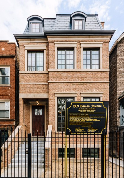 3509 N Damen Avenue, Chicago, IL 60618 - MLS#: 10258729