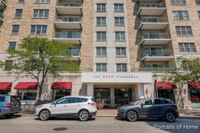 200 W Campbell Street UNIT 408, Arlington Heights, IL 60005 - #: 10279904