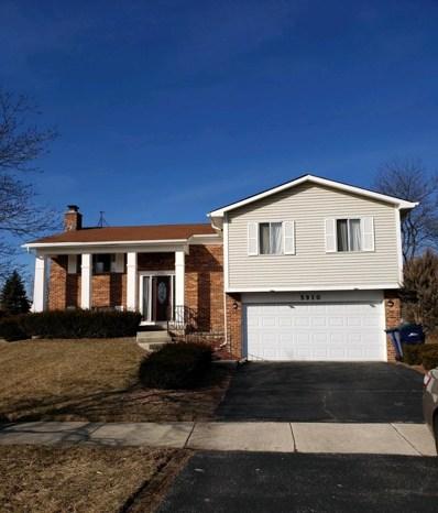 5910 Allemong Drive, Matteson, IL 60443 - MLS#: 10281874