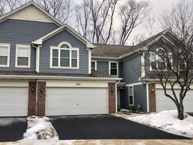 346 W Prairie Circle UNIT 346, Itasca, IL 60143 - #: 10282099