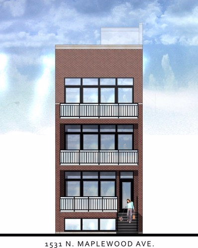 1531 N Maplewood Avenue UNIT 2, Chicago, IL 60622 - MLS#: 10292554