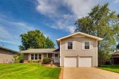 1460 Caldwell Lane, Hoffman Estates, IL 60169 - #: 10296992