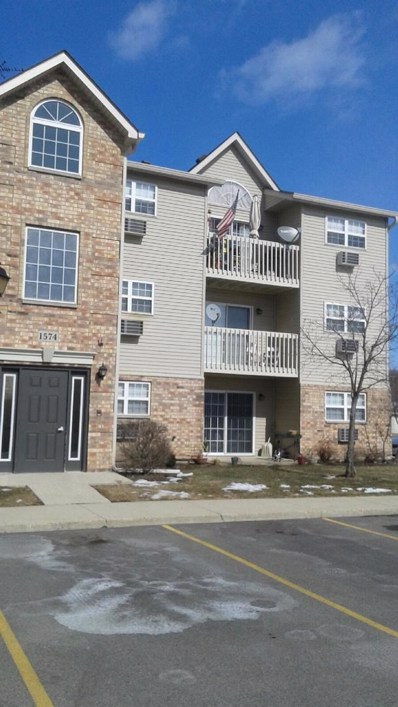 1574 W Crystal Rock Court UNIT 3D, Round Lake Beach, IL 60073 - #: 10299483