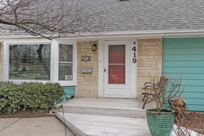 419 N Russel Street, Mount Prospect, IL 60056 - #: 10303621