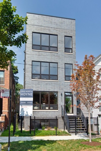 2302 N Hoyne Avenue UNIT 2, Chicago, IL 60647 - #: 10304871