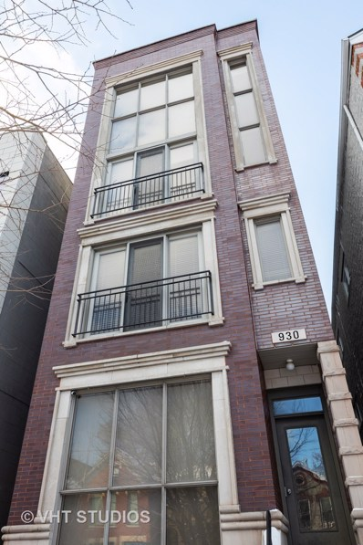 930 N Honore Street UNIT 1, Chicago, IL 60622 - #: 10306335