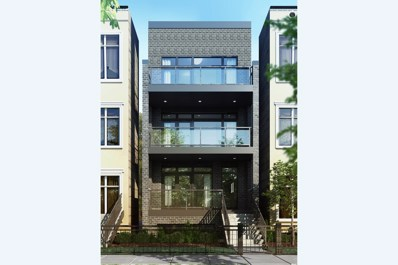 1022 N Honore Street UNIT 3, Chicago, IL 60622 - #: 10307134
