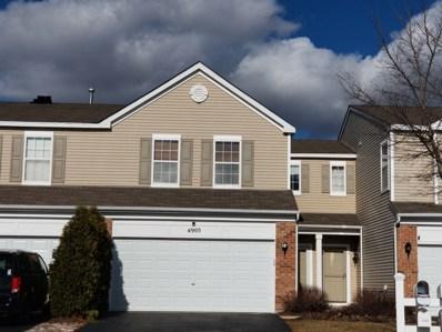 4905 Courtland Circle UNIT 4905, Plainfield, IL 60586 - #: 10310677