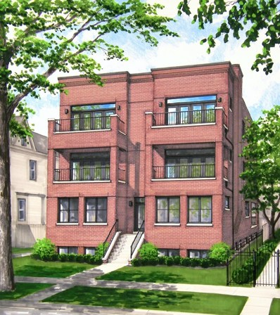 1302 W Winona Street UNIT 3W, Chicago, IL 60640 - #: 10311432