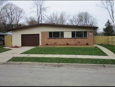 318 Shawnee Street, Park Forest, IL 60466 - #: 10314119