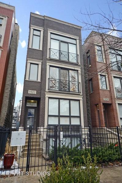 1022 N Paulina Street UNIT 2, Chicago, IL 60622 - #: 10314798