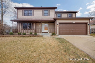 1196 Country Glen Lane, Carol Stream, IL 60188 - #: 10317739