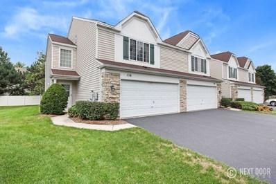 116 Cambridge Avenue, Streamwood, IL 60107 - #: 10323714