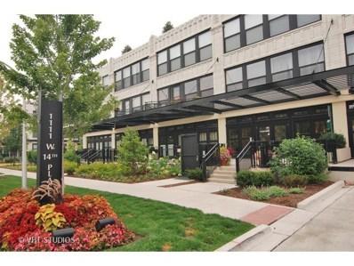 1111 W 14th Place UNIT 318, Chicago, IL 60608 - #: 10325448