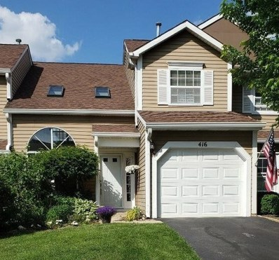 416 Ascot Lane, Streamwood, IL 60107 - #: 10334018