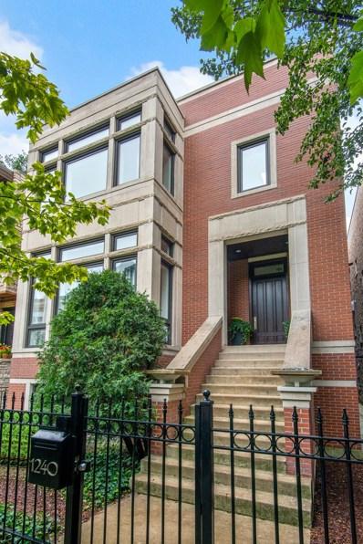1240 W George Street, Chicago, IL 60657 - #: 10336433