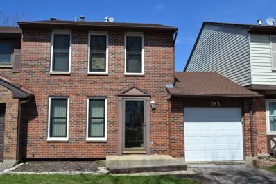 1383 Georgetown Drive, Carol Stream, IL 60188 - #: 10336957