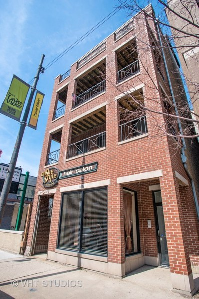 1448 W Belmont Avenue UNIT 3, Chicago, IL 60657 - #: 10337030