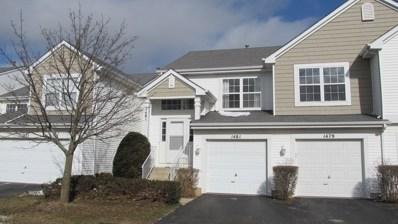 1481 Meadowsedge Lane UNIT 1481, Carpentersville, IL 60110 - #: 10338315