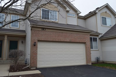 183 Southwicke Drive, Streamwood, IL 60107 - #: 10343517