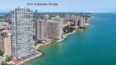 6101 N Sheridan Road UNIT 6C, Chicago, IL 60660 - #: 10346869