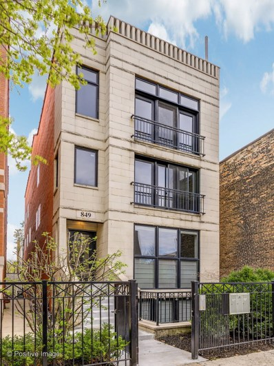 849 N Paulina Street UNIT 3, Chicago, IL 60622 - #: 10351879