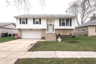 708 Wicker Avenue, Streamwood, IL 60107 - #: 10355952