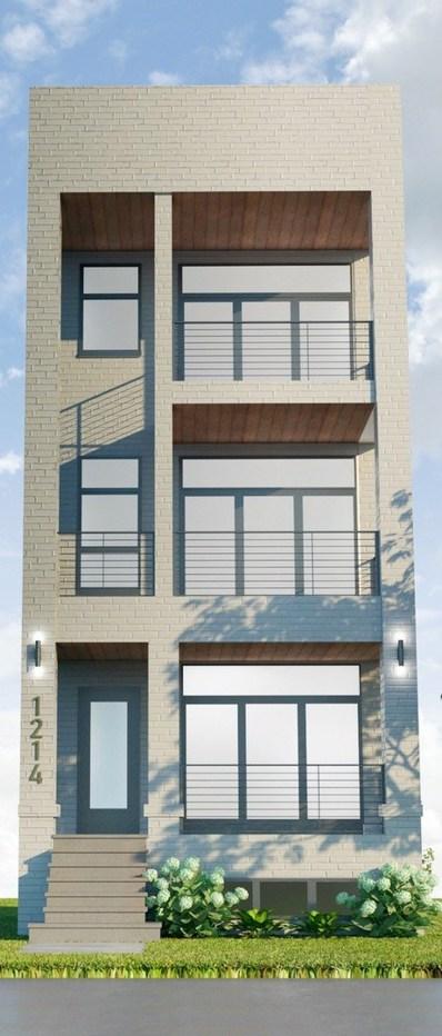 1214 W Hubbard Street UNIT 1, Chicago, IL 60642 - #: 10357075