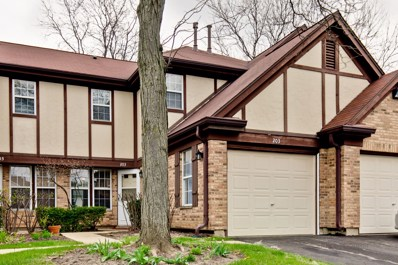 203 Green Knoll Lane UNIT 203, Streamwood, IL 60107 - #: 10357084