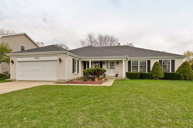3965 Charlemagne Drive, Hoffman Estates, IL 60192 - #: 10357097