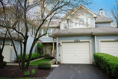 1251 Rhodes Lane UNIT 1207, Naperville, IL 60540 - #: 10359071