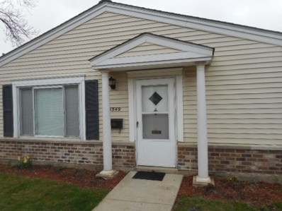 1549 Cove Drive UNIT 192A, Prospect Heights, IL 60070 - #: 10366020