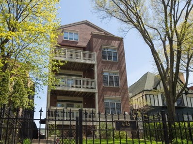 4745 N Dover Street UNIT 2W, Chicago, IL 60640 - #: 10368047