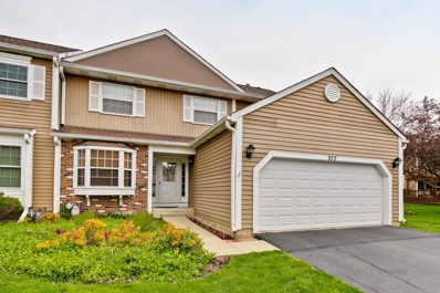 377 Ascot Lane, Streamwood, IL 60107 - #: 10374062