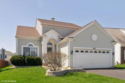 492 Knoll Crest Drive, Bartlett, IL 60103 - #: 10375229